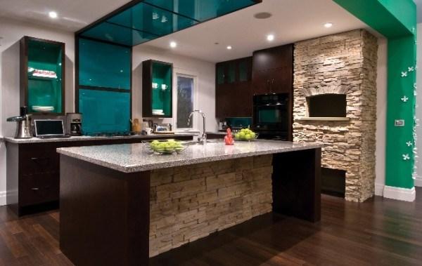 Doğal taş kaplama mutfak (6)