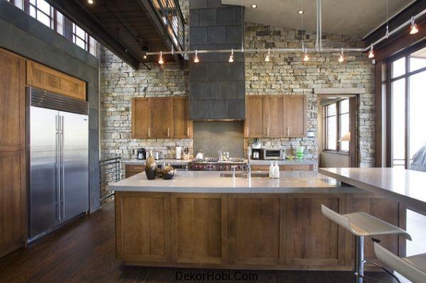Doğal taş kaplama mutfak (7)