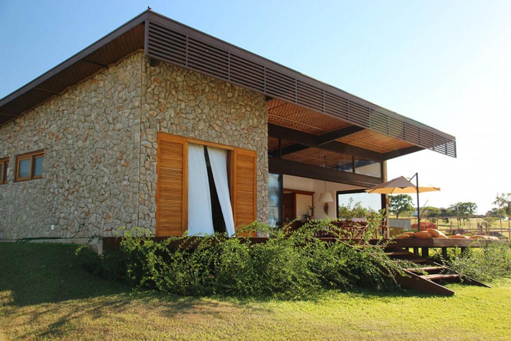 Zarif ve görsel yazlık taş ev modelleri (4)