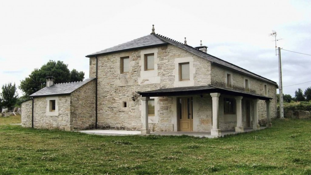 Zarif ve görsel yazlık taş ev modelleri (5)