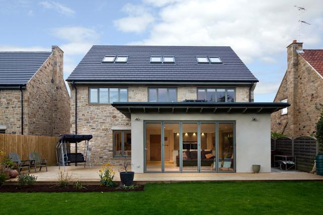 Taş ev villa modelleri (5)